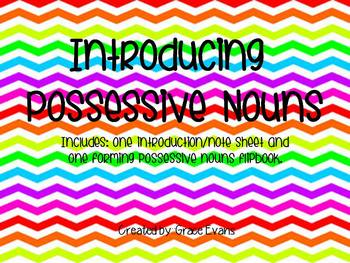 Possessive Nouns: Introduction Bundle