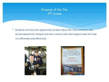 Intrepid PP slides with activities and teacher resources