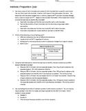 Intrinsic Properties Quiz