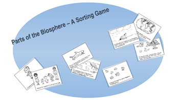 Intro Biology Card Game - Parts of Biosphere