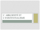 Intro Existentialism and L'etranger