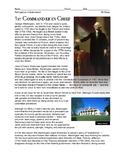 Intro Handout to George Washington