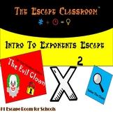 Intro Into Exponents Escape Room | The Escape Classroom