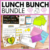 Editable Intro Lunch Bunch Activity