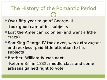 Romantic Period Intro Presentation