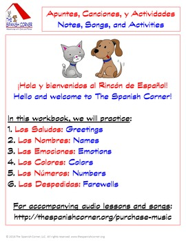 Intro Spanish Unit for Kids