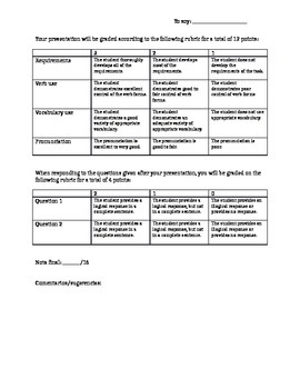 Intro Spanish presentation