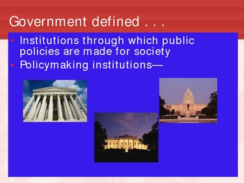 Intro to American Gov