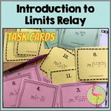 Calculus Limits Relay Activity