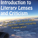Literary Lenses/Criticism:  Feminism, Psychoanalysis, Post
