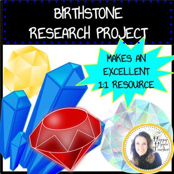 Birthstone Minerals Project