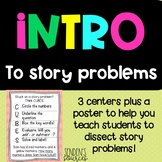 Intro To Story Problems Centers