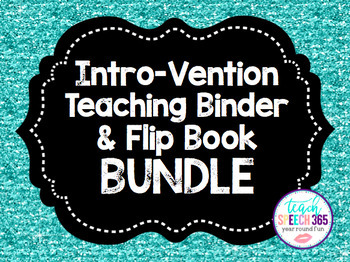 Intro-Vention BUNDLE (Teaching Binder & Flip Books)