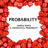 Intro probability lesson - sample space and theoretical pr