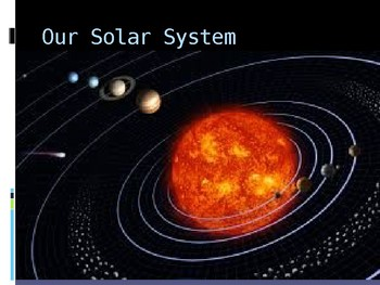 Intro the Our Solar System