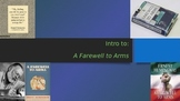 Intro to A Farewell to Arms