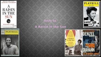 Intro to A Raisin in the Sun PPT