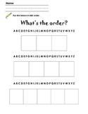 Intro to ABC Order