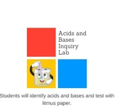 Intro to Acids and Bases Lab Testing with Litmus Paper