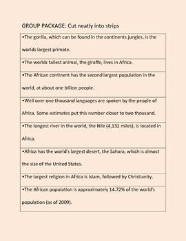 Intro to Africa