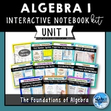 Unit 1 - The Foundations of Algebra (Interactive Notebook Kit)