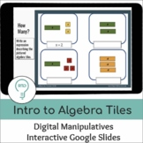 Intro to Algebra and Equations | Interactive Digital Visua