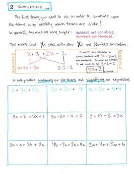 Intro to Algebraic Equations