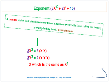 Intro to Algebraic Expressions, The Distributive Property & Combining Like Terms