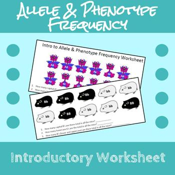 Intro to Allele and Phenotype Frequency