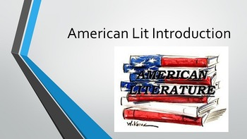 American Romanticism Introduction Lesson AND PowerPoint