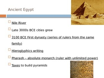 Intro to Ancient Civilizations Powerpoint