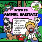 Intro to Animal Habitats: Explore the Ecosystems (Posters/Activities/Assessment)