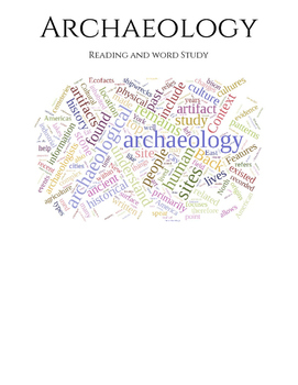 Intro to Archaeology - Reading and Vocabulary