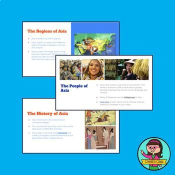Intro to Asia: INTERACTIVE Slideshow & Notes