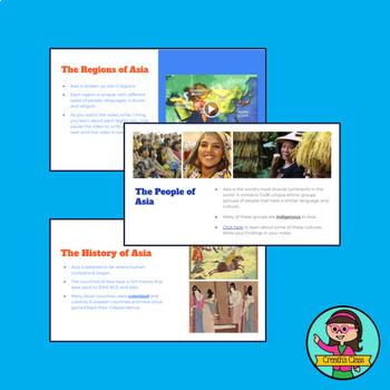 Intro to Asia: Lesson Bundle