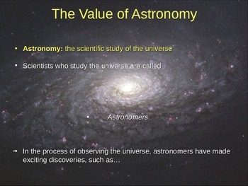Intro to Astronomy Bundled Lesson