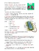 Intro to Bacteria Open Notes, Worksheet, KEYS