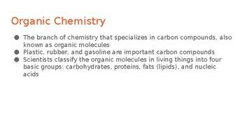 Intro to Biochemistry Unit