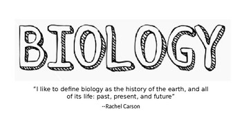Intro to Biology Powerpoint