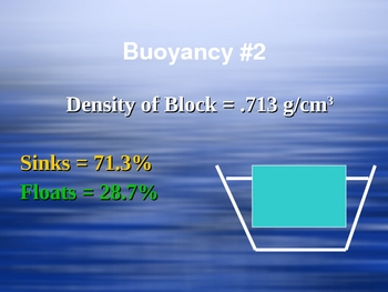 Intro to Buoyancy Presentation (floating sinking)