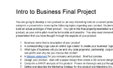 Intro to Business Final Project