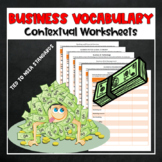 Intro to Business Vocabulary Bundle