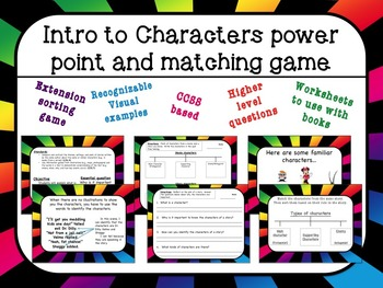 Intro to Character power point and game