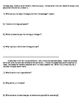 Intro to Characterization