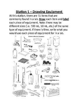 Intro to Chem Lab Stations