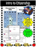 Intro to Citizenship Bingo Review Game (Color)