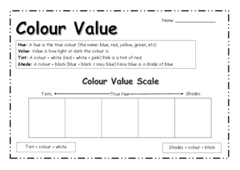 Intro to Colour Value