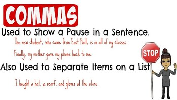 Intro to Commas, Ellipses, & Dashes