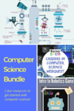 Intro to Computer Science Lesson Bundle (distance learning