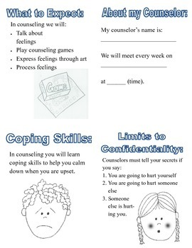 Intro to Counseling Workbook for Children